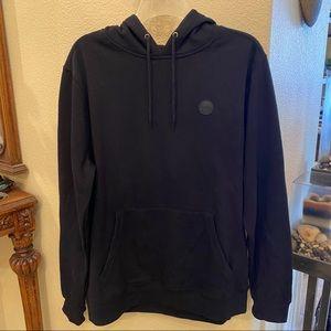 NWT~VOLCOM Black Hoodie Sweatshirt Size Medium